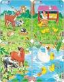 puzzle malé - ZVÍŘÁTKA Z FARMY