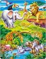 puzzle SAFARI, 18 dílků