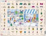 puzzle s angličtinou - NA ULICI