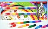 Voskovky nasazovací barevné - sada 2 ks