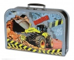 Dětský kufřík velký 35 cm - STAVBA