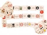 Domino DOPRAVNÍ ZNAČKY - 80 kartiček