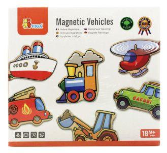 Dřevěné magnety - DOPRAVNÍ PROSTŘEDKY