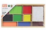 Počítací pomůcka - matematické tyčinky dřevěné