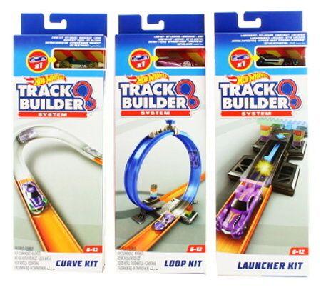 Hot Wheels Track Builder - doplňky dráha s angličákem