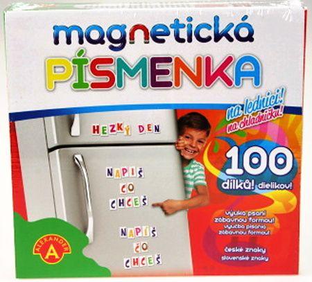 Magnetická písmena - čeština Alexander