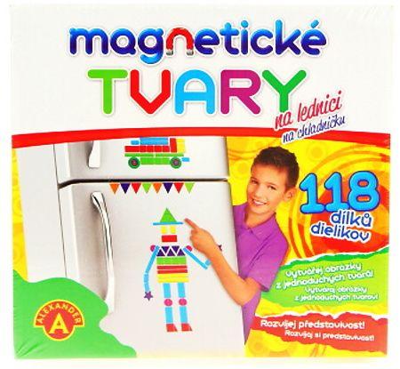 Magnetické tvary - 118 ks Alexander