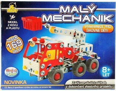 Malý mechanik - HASIČSKÉ AUTO