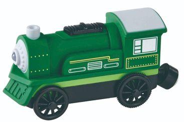 MAXIM Elektrická lokomotiva zelená - malá