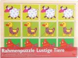 Logické puzzle různé půlky - zvířátka