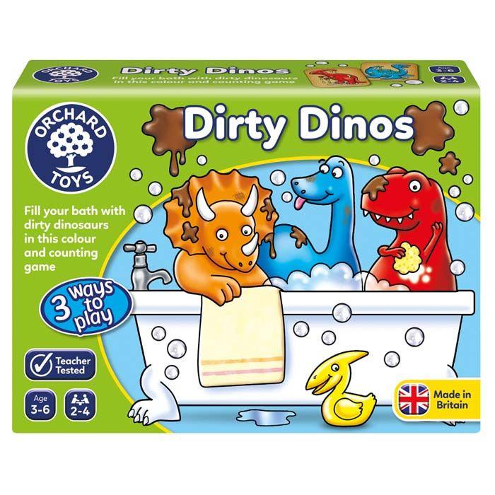 ORCHARD TOYS -hra DINOSAUŘI (Dirty Dinos)