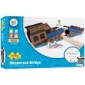 Pirátský most loď - dřevěné vláčky BIGJIGS