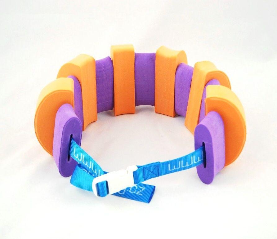 PLAVECKÝ PÁS (13 dílků) - oranžovo-fialový Aronet