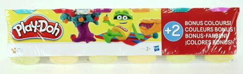 Play-Doh modelína - s oranžovou a růžovou 6 ks