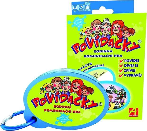 POVÍDAČKY Kids - Rodinná komunikační hra