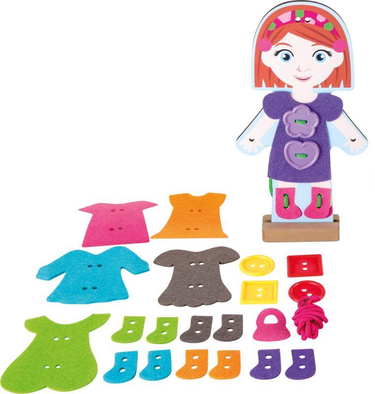 Provlékání - oblékání holčička Legler