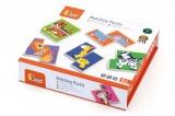 První puzzle dřevěné - zvířátka