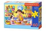 Puzzle 60 dílků - Malá kuchařka Castor