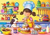 Puzzle 60 dílků - Malá kuchařka