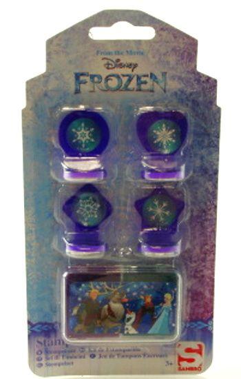 Razítka VLOČKY Frozen