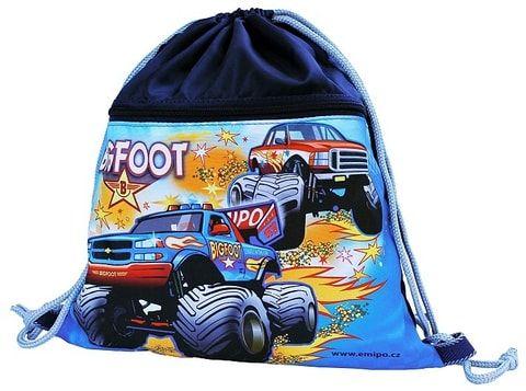 Taška pytel na tělocvik, přezůvky - BIGFOOT auto