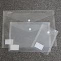 Průhledna plastová kapsa se zapínáním - sada 3 ks (A4, A5, A6)