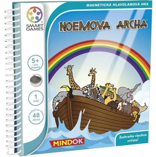 Smart magnetická hra - NOEMOVA ARCHA Smart-Mindok