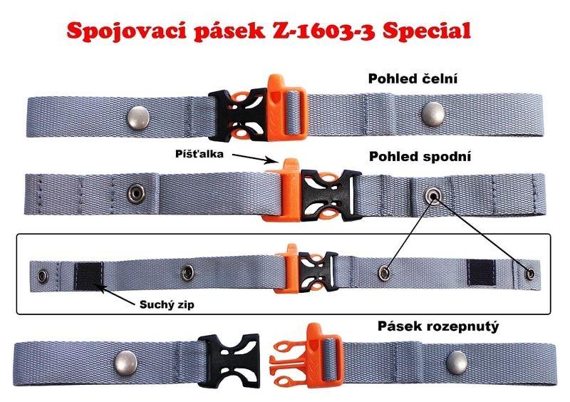 Spojovací prsní pásek na aktovky univerzální - Special Emipo