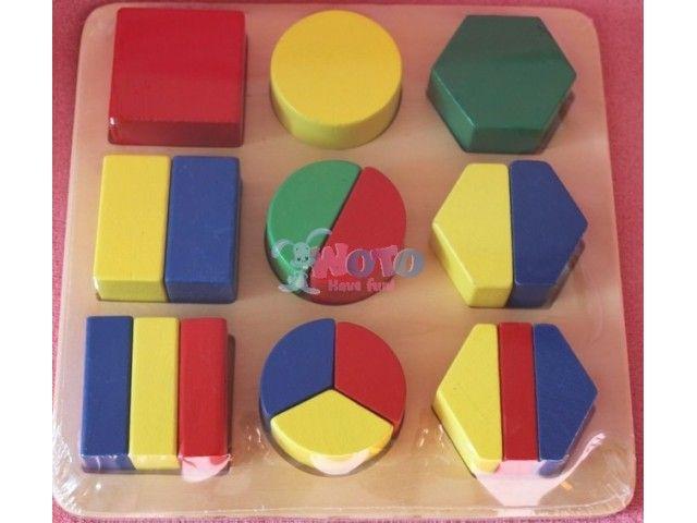 Vkládačka - geometrické tvary